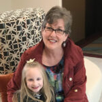 Ann Hatcher with granddaughter